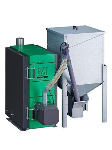 installazione di caldaie a biomassa