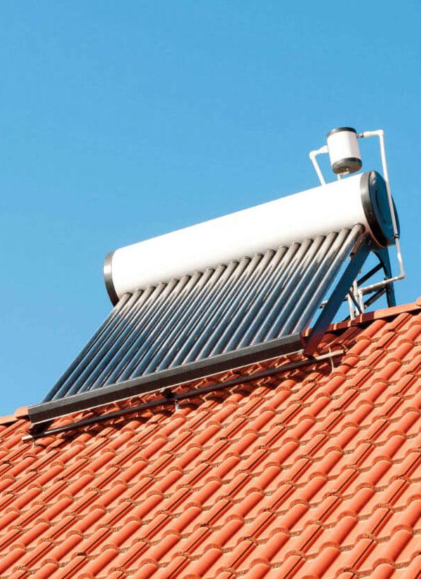 Siamo esperti nell'installazione di impianti solari termici