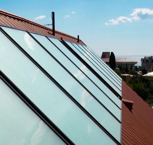 Siamo specializzati nell'installazione di impianti solari termici