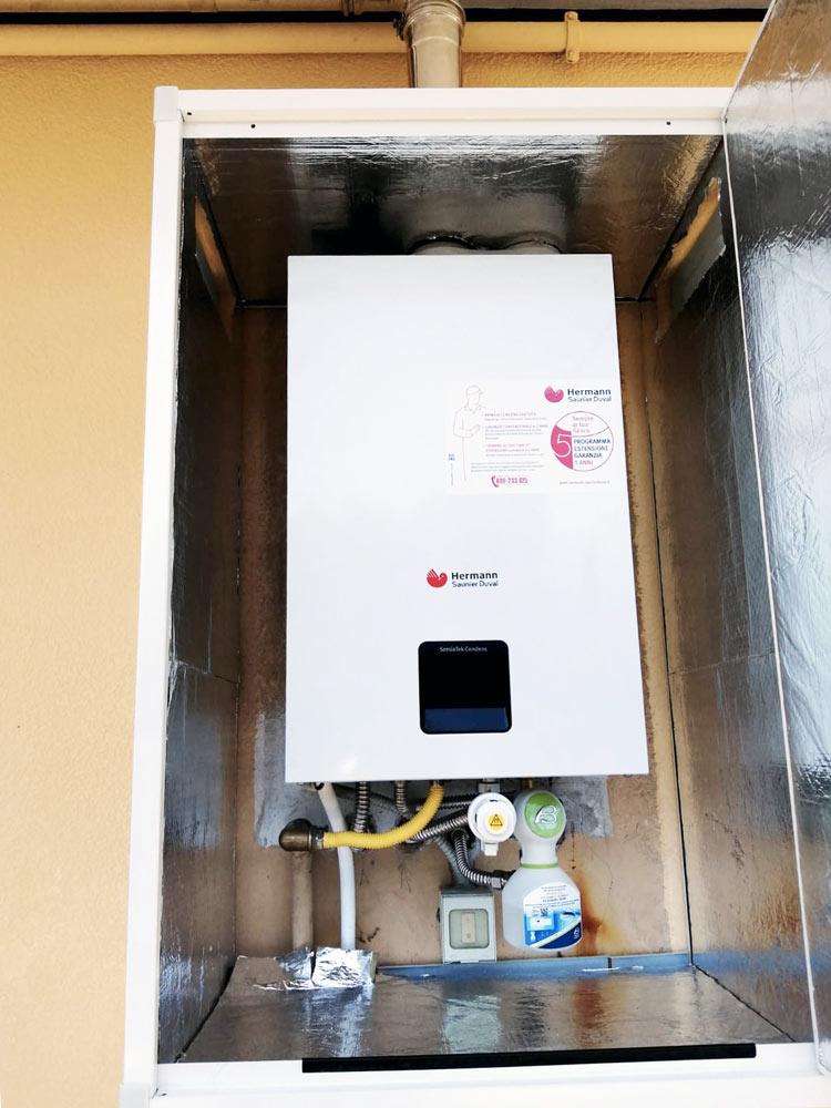 installazione di caldaie a condensazione